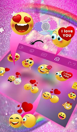 Download Pink Unicorn Keyboard Theme MOD APK 5