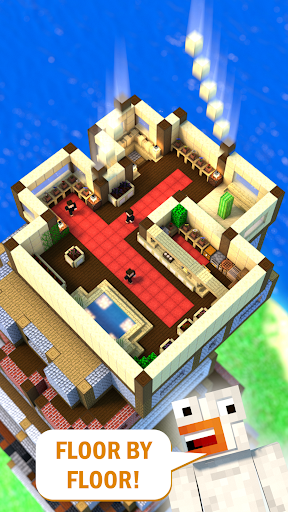 Tower Craft 3D - Idle Block Building Game modavailable screenshots 2