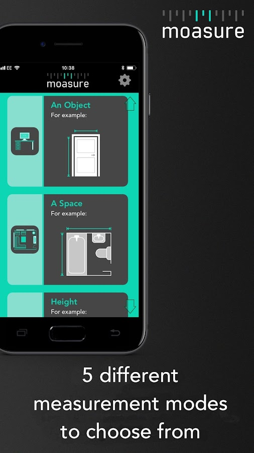Moasure The Smart Tape Measure Android Apps On Google Play