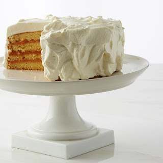 Genoise With Raspberry Curd Filling