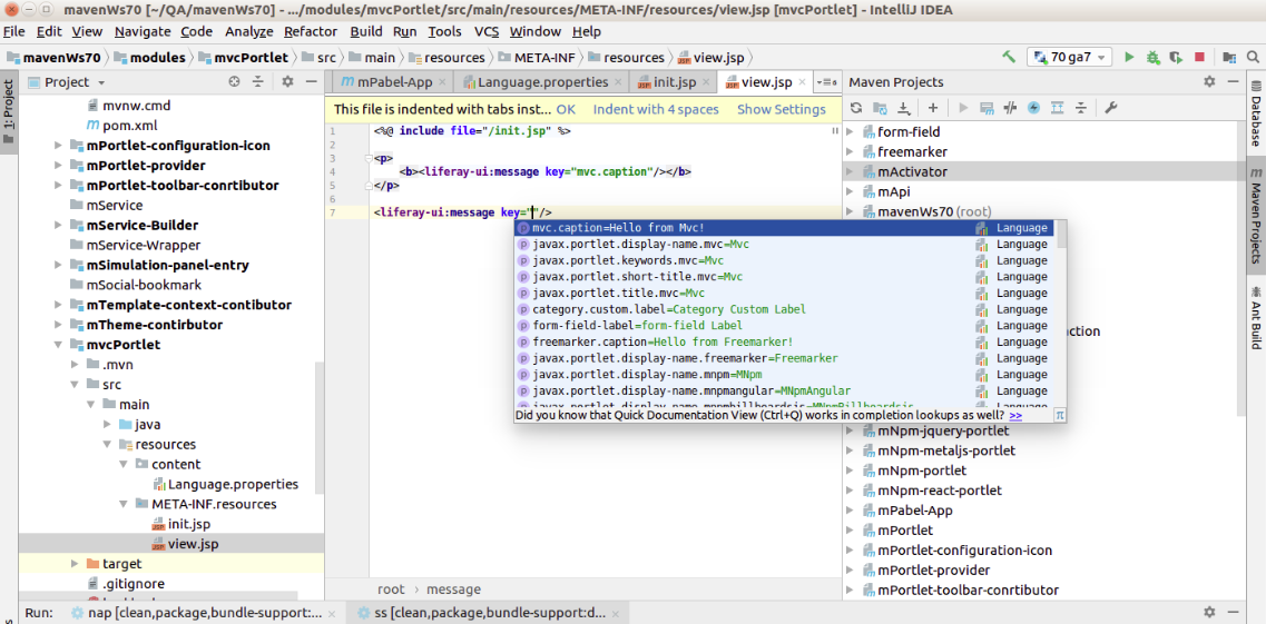 Liferay Portal / News: Liferay IntelliJ Plugin 1 1 1 Released