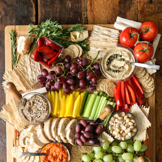 Vegan Charcuterie Board.