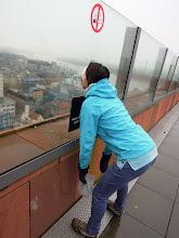 Photo: totální nadšenost z panoramat a počasí