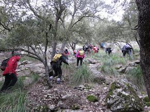 Photo: Subiendo hacia el GR221 desde el Racó Perdut