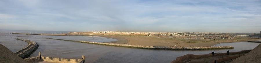 Photo: Widok z Kazby al-Udaja, Rabat