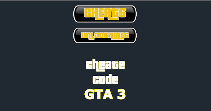 cheat codes of gta 3