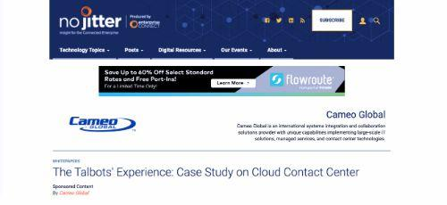The Talbots' Experience: Case Study on Cloud Contact Center