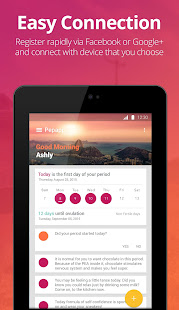 App Pepapp - Period, PMS, Ovulation Tracker APK for Windows Phone
