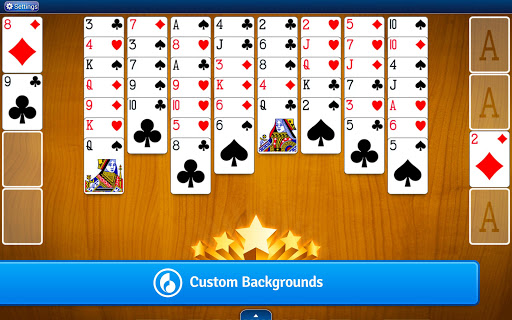 FreeCell Solitaire  gameplay | by HackJr.Pw 9