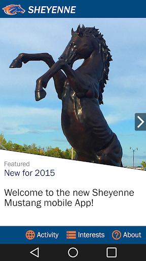 Sheyenne Mustangs