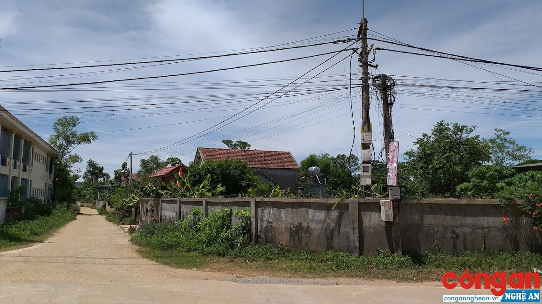 Lưới điện hạ áp nông thôn xã Nghĩa Thuận chính thức hoàn thành từ năm 2014