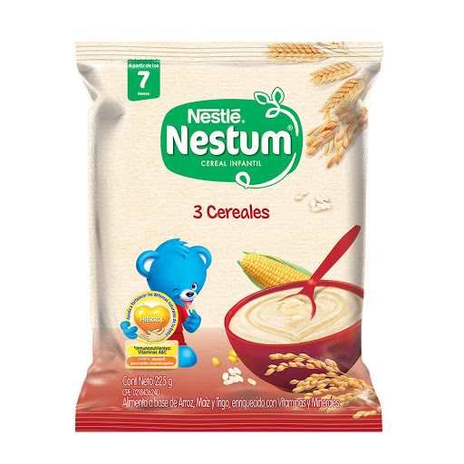 Cereal Infantil Nestum 3 Cereales Bolsa 225Gr