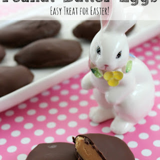 Peanut Butter Cup Eggs | Easy Easter