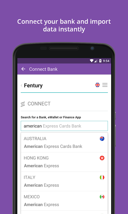 Fentury: Money Manager- screenshot