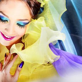 colours everywhere by Banggi Cua - People Fashion