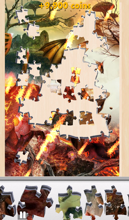 Live Jigsaws - The Lost Island- screenshot