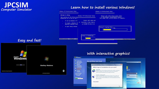 JPCSIM - PC Windows Simulator Apk 1