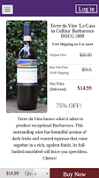 Screenshot of Wines Til Sold Out  (WTSO)