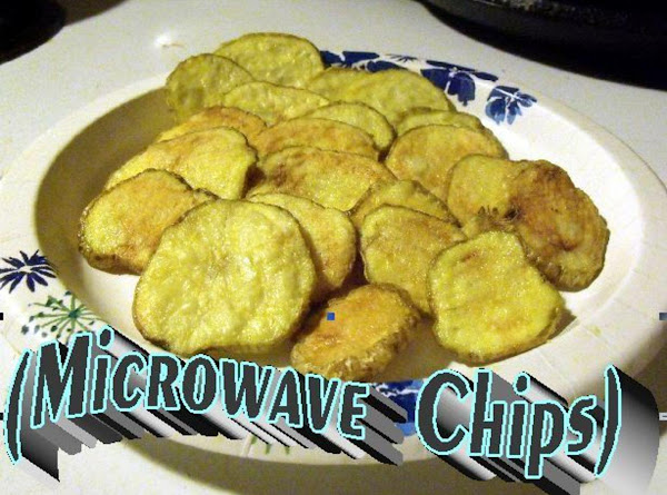 Microwave Chips Recipe