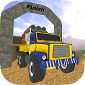 Mountain Truck Parking Sim