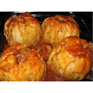 Caramel Apple Dumplings.