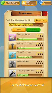 Clickie Zoo - Idle Tycoon- screenshot thumbnail