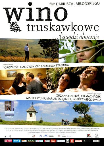 Przód ulotki filmu 'Wino Truskawkowe'