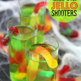 Gummy Worm Jello Shooters