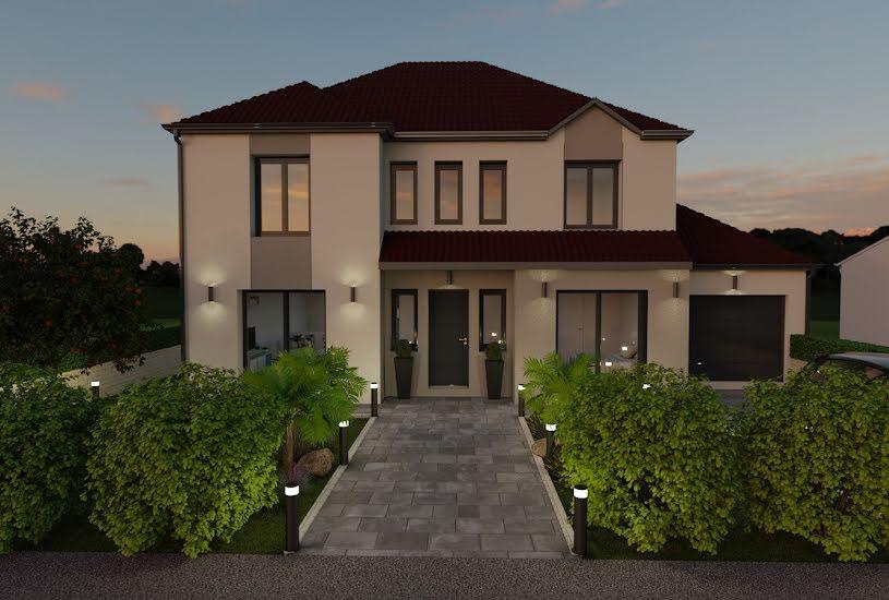 Vente Terrain + Maison - Terrain : 500m² - Maison : 145m² à Dammartin-en-Goële (77230)