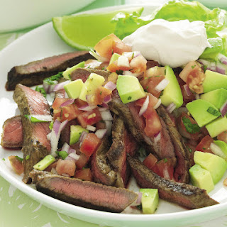 Spiced Steak with Avocado Salsa
