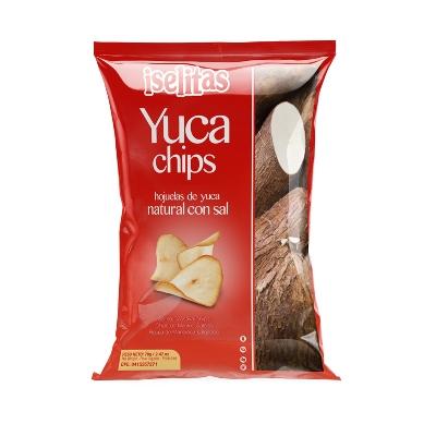 Snack Iselitas Yuca Chips Con Sal 70Gr