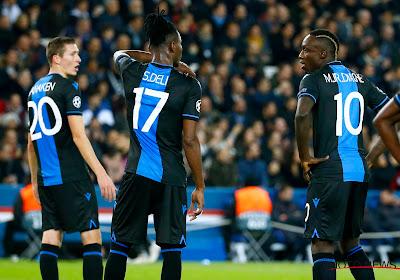 Le Club de Bruges réagit: Mbaye Diagne écarté du noyau A