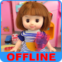 Baby Doll Cooking and Children Songs Offline icon