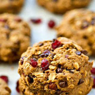 One-Bowl Chocolate Chip Trail Mix Breakfast Cookies.