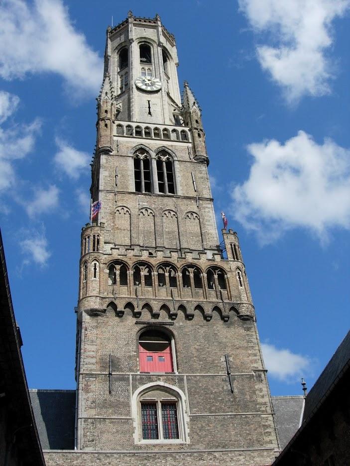 Le beffroi à Bruges