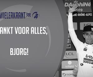 BinckBank Tour brengt samen met supportersclub Bjorg Lambrecht hulde aan overleden renner