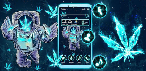 Galaxy Space Weed Themes Live Wallpapers Aplikace Na Google Play