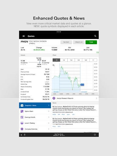 E TRADE Mobile Pro  screenshot 8