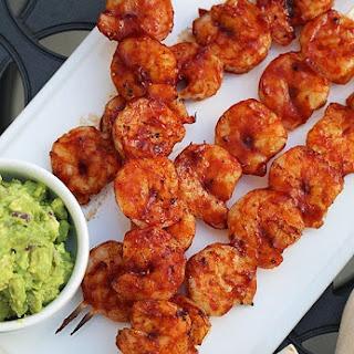 BBQ Shrimp Skewers.
