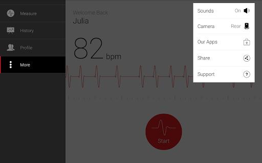Cardiograph - Heart Rate Meter screenshot 10