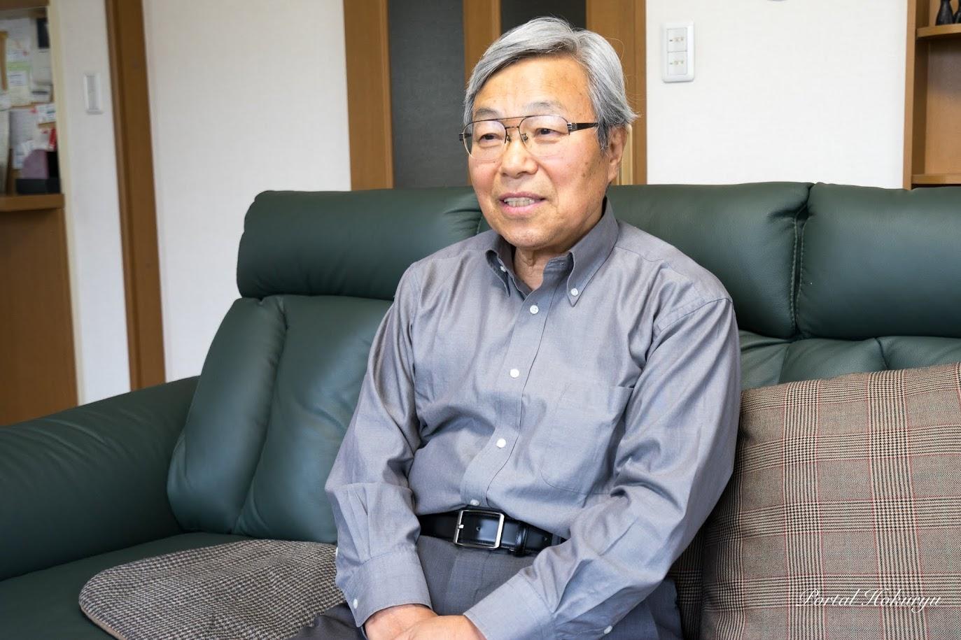北海道拓殖短期大学・三分一敬(さんぶいち たかし)名誉教授