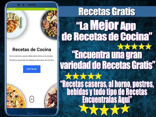 Recetas de cocina fu00e1ciles gratis Apk 2
