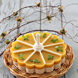 Mango Coconut Jelly