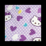 Photo: *Hello Kitty Lilac* *hard to find fabric