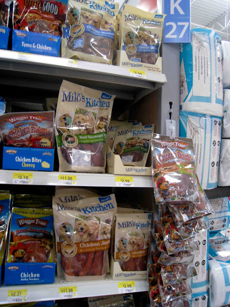 Photo: Lots of #miloskitchen treats! We picked some meatballs and sausage sticks.