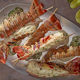 Coconut-Jalapeño Lobster Tails.