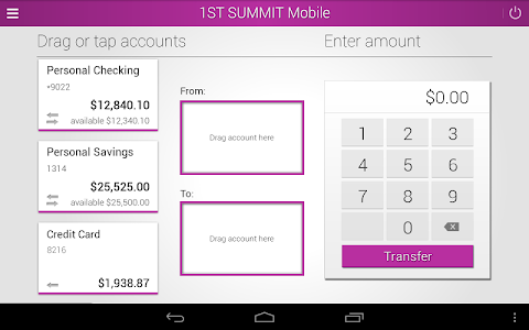 1ST SUMMIT BANK screenshot 7