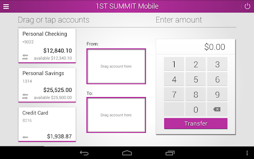1ST SUMMIT BANK- screenshot thumbnail