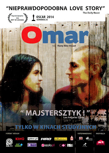 Przód ulotki filmu 'Omar'