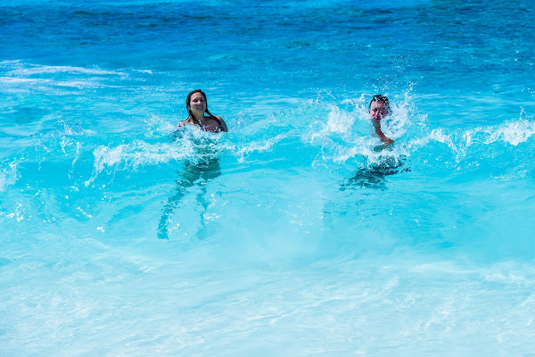 Have fun in the crystal clear water at the beach of Koh Similan (Island No. 8)